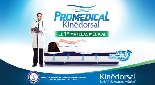 Kinédorsal lance Promédical